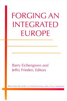 Cover image for Forging an Integrated Europe