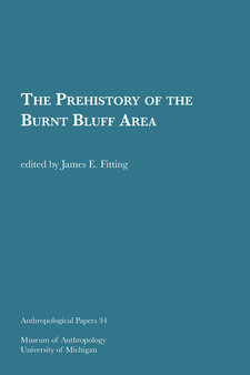 Cover image for The Prehistory of the Burnt Bluff Area