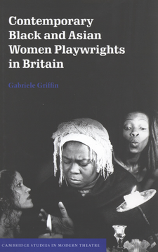 Cover image for Contemporary Black and Asian women playwrights in Britain