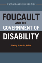 Cover image for Foucault and the Government of Disability