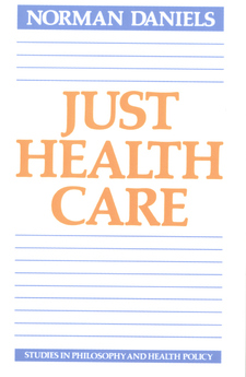 Cover image for Just health care