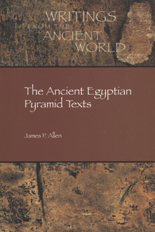 Cover image for The ancient Egyptian pyramid texts
