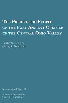 Cover image for The Prehistoric People of the Fort Ancient Culture of the Central Ohio Valley