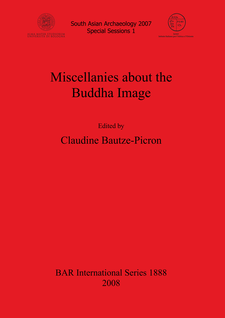 Cover image for Miscellanies about the Buddha Image