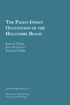 Cover image for The Paleo-Indian Occupation of the Holcombe Beach