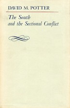 Cover image for The South and the sectional conflict