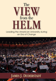 Cover image for The View from the Helm: Leading the American University during an Era of Change