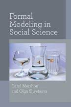 Cover image for Formal Modeling in Social Science