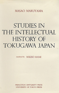 Cover image for Studies in the intellectual history of Tokugawa Japan
