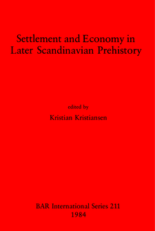 Cover image for Settlement and Economy in Later Scandinavian Prehistory