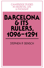 Cover image for Barcelona and its rulers, 1096-1291