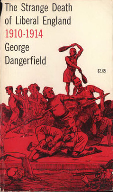 Cover for The strange death of Liberal England, 1910-1914