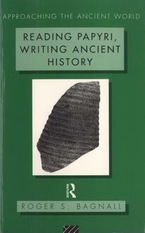 Cover image for Reading papyri, writing ancient history