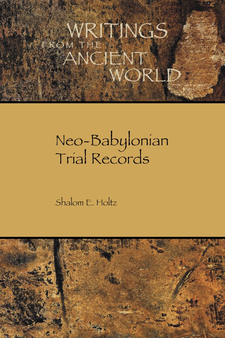 Cover image for Neo-Babylonian trial records