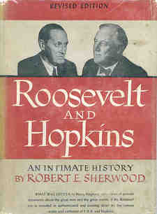 Cover image for Roosevelt and Hopkins: an intimate history