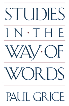 Cover image for Studies in the way of words