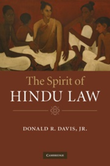 Cover image for The spirit of Hindu law