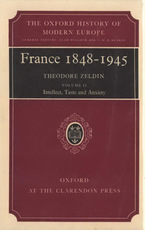Cover image for France, 1848-1945, Vol. 2