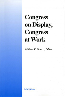 Cover image for Congress on Display, Congress at Work