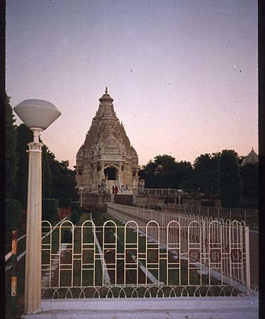 The Birla temple in Pilani is dedicated to Saraswati.