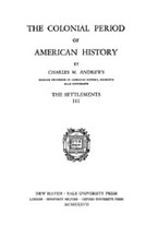 Cover image for The colonial period of American history, Vol. 3