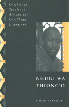 Cover image for Ngugi wa Thiong'o