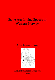 Cover image for Stone Age Living Spaces in Western Norway