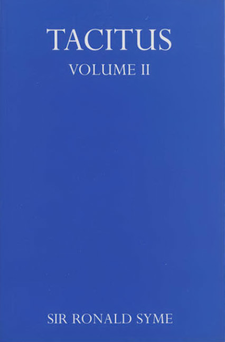 Cover image for Tacitus, Vol. 2