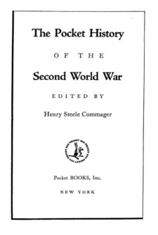 Cover image for The pocket history of the Second World War