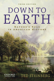 Cover image for Down to earth: nature's role in American history