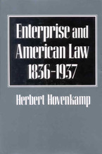 Cover image for Enterprise and American law, 1836-1937