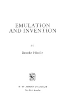 Cover image for Emulation and invention