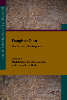 Cover image for Daughter Zion: her portrait, her response