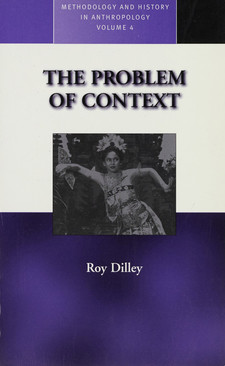 Cover image for The problem of context