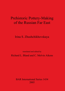 Cover image for Prehistoric Pottery-Making of the Russian Far East