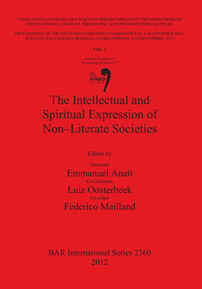 Cover image for The Intellectual and Spiritual Expression of Non-Literate Societies