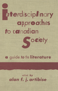 Cover image for Interdisciplinary approaches to Canadian society: a guide to the literature