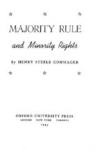 Cover image for Majority rule and minority rights