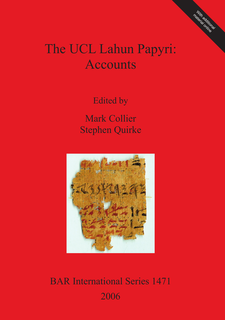 Cover image for The UCL Lahun Papyri: Accounts