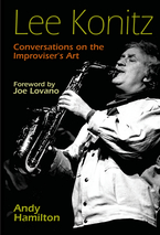 Cover image for Lee Konitz: Conversations on the Improviser's Art