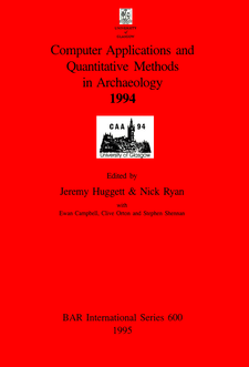 Cover image for Computer Applications and Quantitative Methods in Archaeology 1994