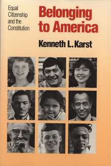 Cover image for Belonging to America: equal citizenship and the constitution