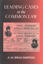 Cover image for Leading cases in the common law