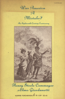 Cover image for Was America a mistake?: an eighteenth-century controversy