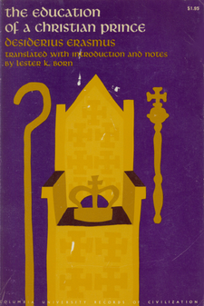 Cover image for The education of a Christian prince