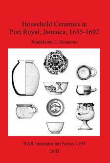 Cover image for Household Ceramics at Port Royal, Jamaica, 1655-1692
