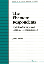 Cover image for The Phantom Respondents: Opinion Surveys and Political Representation