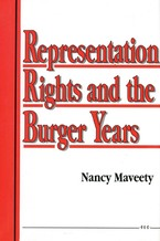 Cover image for Representation Rights and the Burger Years