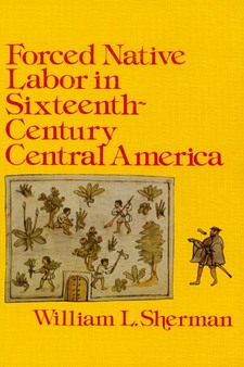 Cover image for Forced native labor in sixteenth-century Central America
