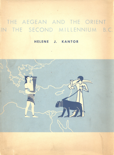 Cover image for The Aegean and the Orient in the second millennium B.C.